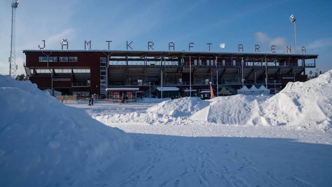 Jämtkraft arena. Foto: TOBIAS NYKÄNEN / BILDBYRÅN