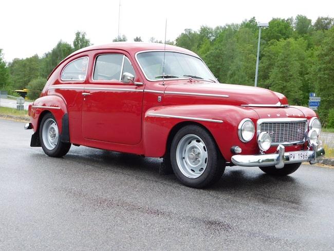 Volvo PV 544 Sport B18D, fabrikstrimmad (128hk) från 1966.