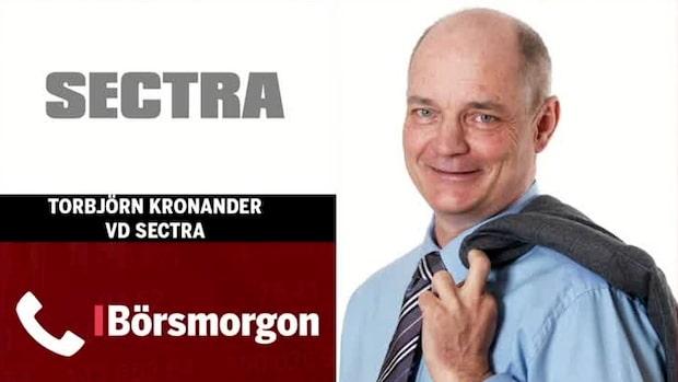 """Vd Sectra: """"Spår svagare Q1 än vanligt"""""""