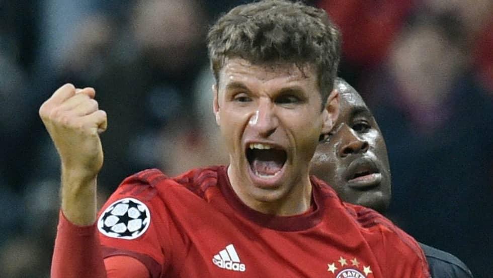 Thomas Müller är en av Tysklands absolut största fotbollsspelare just nu. Foto: Peter Kneffel / Epa / Tt / EPA TT NYHETSBYRÅN