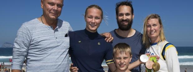 """Sjöströms pappa: """"Bästa jag varit med om"""""""