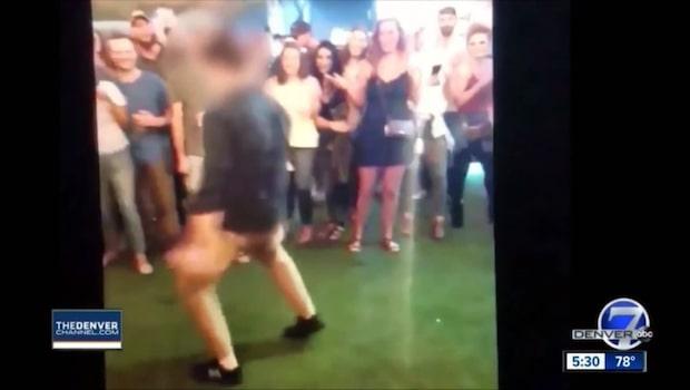 Dansande FBI-agent sköt en person i benet