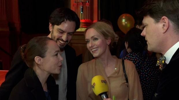 """Ensemblen i Linje Lusta får priset """"En bit av Georgs hatt"""""""
