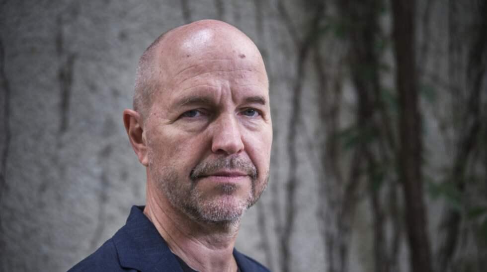 """Gellert Tamas, journalist och författare till """"Lasermannen"""". Foto: Jan-Åke Eriksson"""