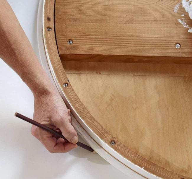 Tapetsera möbler u2013 så gör du ett snyggt bord Vardagsrum Expressen Leva& bo