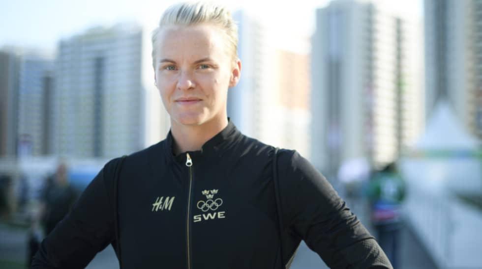 I sommar spelar Nilla Fischer EM - och siktar på guld. Sedan väntar föräldraskapet. Foto: Carl Sandin / BILDBYRÅN