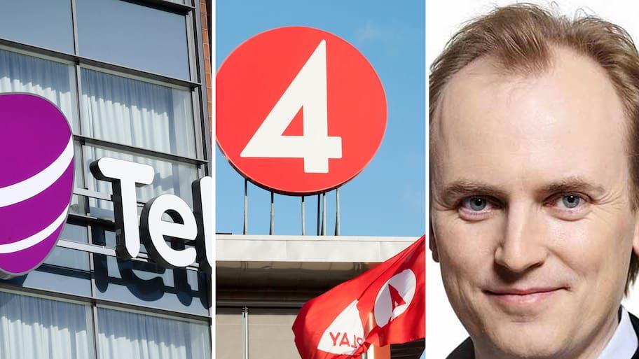Mattias Fyrenius om Telias eventuella köp av TV4