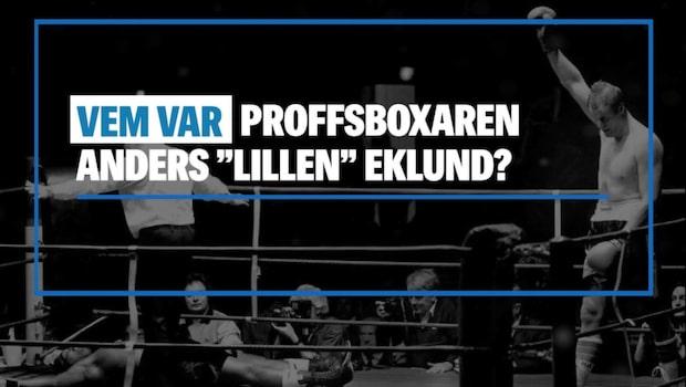 """Vem var Anders """"Lillen"""" Eklund?"""