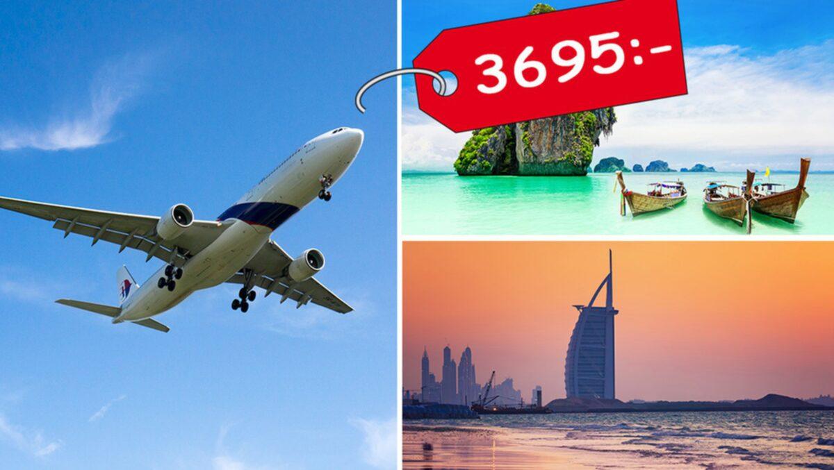 billiga flyg – priserna på flygbiljetter har aldrig varit lägre än