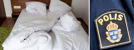 Man hittade snarkande främling under sängen