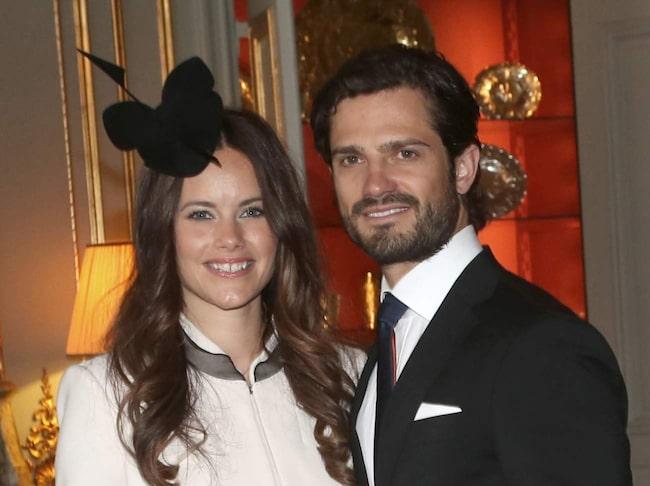<span>Prins Carl Philip och hans Sofia laddar upp för sin smekmånad.</span> <span><br></span>