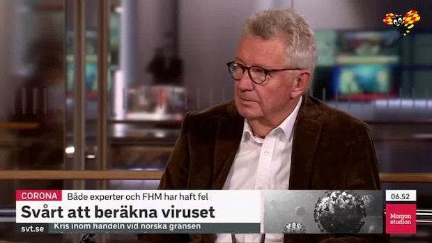 Giesecke: Viruset har lurat oss många gånger