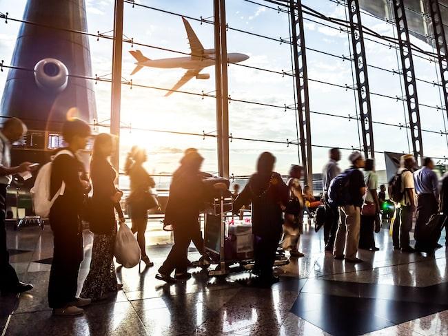 Flygplatsen – en perfekt plats för nättjuvar.