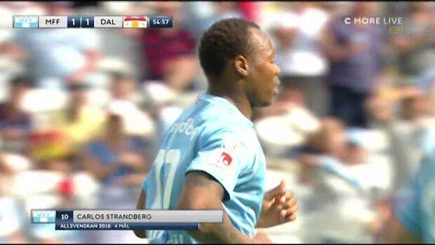 Strandbergs prickskytte - Malmö kvitterar mot Dalkurd