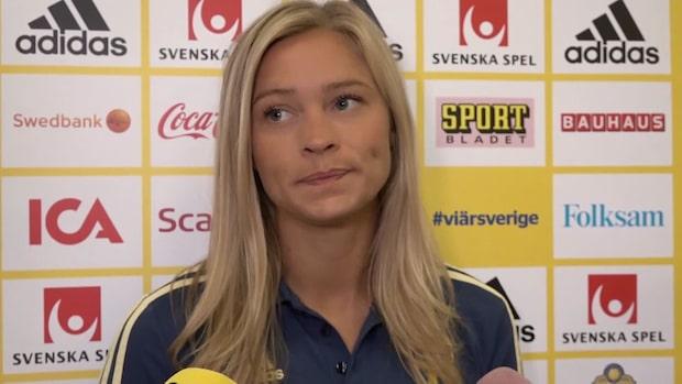 """Fridolina Rolfö: """"Stör mig väldigt mycket"""""""