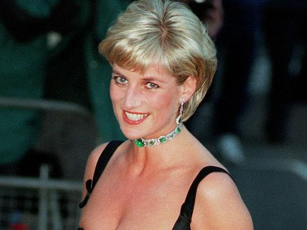 Privata bilden på prinsessan Diana