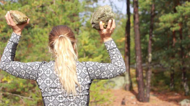 Träna gratis med stenar