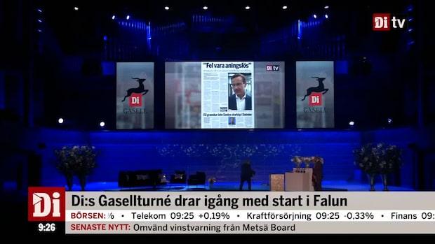 Di Gasellturné drar igång med start i Falun