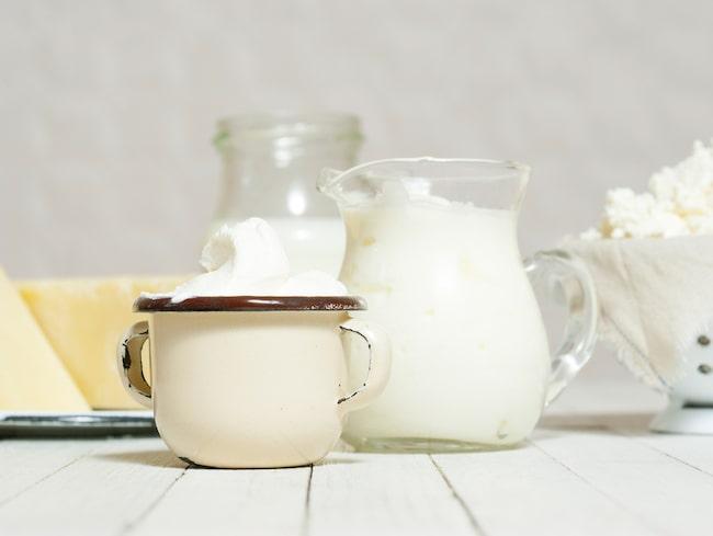 Ät feta mejeriprodukter utan dåligt samvete