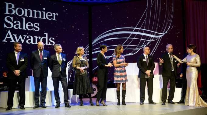 Bonnier Sales Awards är en gala för säljprestationer. Foto: Julia Dansarie