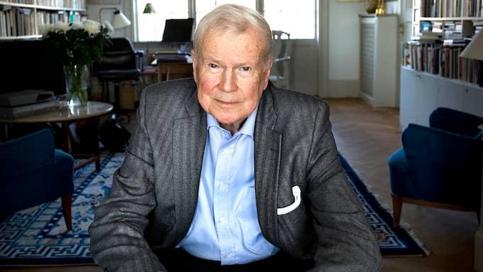 Kjell Espmark vill att Horace Engdahl avgår. Foto: DAN HANSSON / SVD / SCANPIX / SVENSKA DAGBLADET SCANPIX SWEDEN