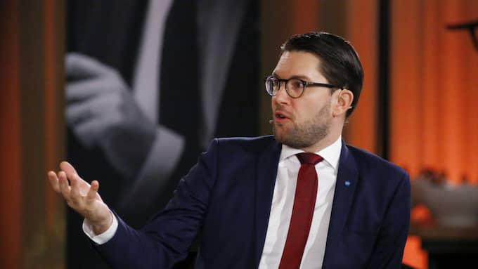 Sverigedemokraternas ledare, Jimmie Åkesson. Foto: Patrik C Österberg / PATRIK C ÖSTERBERG / IBL/IBL PATRIK C ÖSTERBERG /