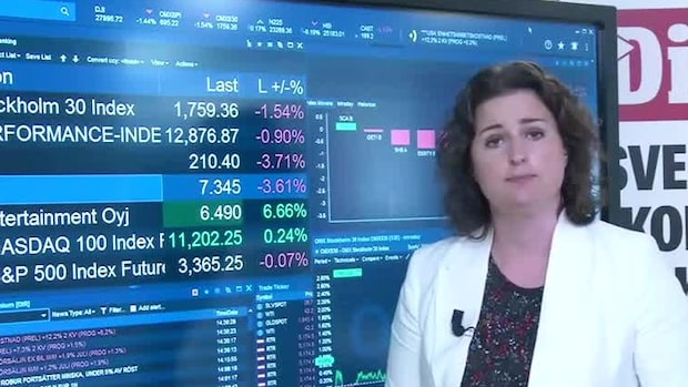 Marknadskoll: Börsen ner - SKF i botten