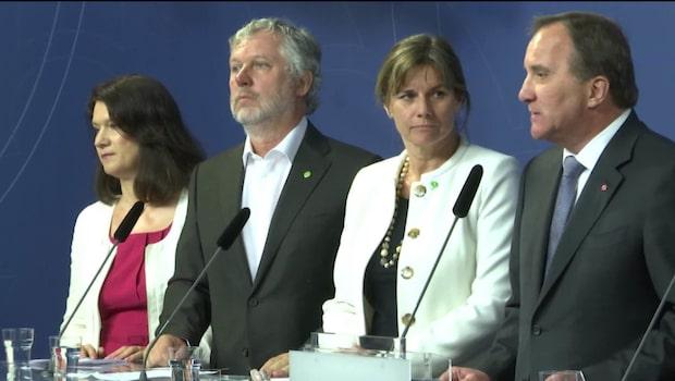 Miljöpartiet under riksdagsspärren
