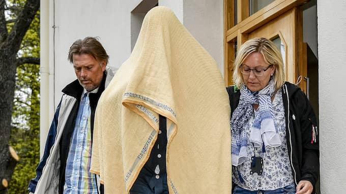 22-åringen misstänks ha mördat Tova Moberg. Foto: ALEX LJUNGDAHL