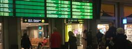 Förseningar i tågtrafiken i Stockholm