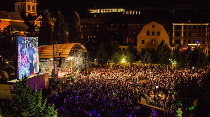 Övergreppen ska ha skett under ungdomsfestivalen We are Sthlm i Kungsträdgården. Foto: Alexander Tillheden