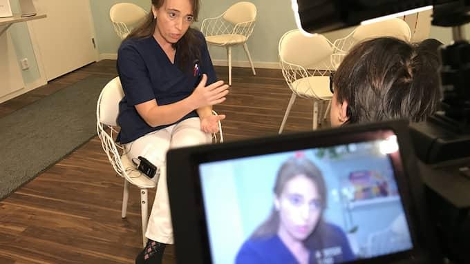 Verksamhetschefen Sophia Ehrström försvarar den stora notan med att gynekologerna är så duktiga på att ställa diagnos. Foto: ERIK GUSTAFSON