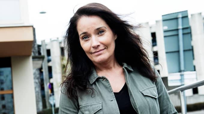 Agneta Sjödin, 50, har hittat kärleken igen. Foto: OLLE SPORRONG