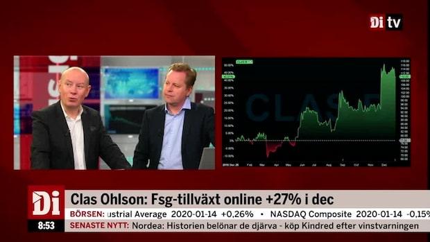 """Clas Ohlsons försäljning minskade: """"Behöver inte vara slutet"""""""
