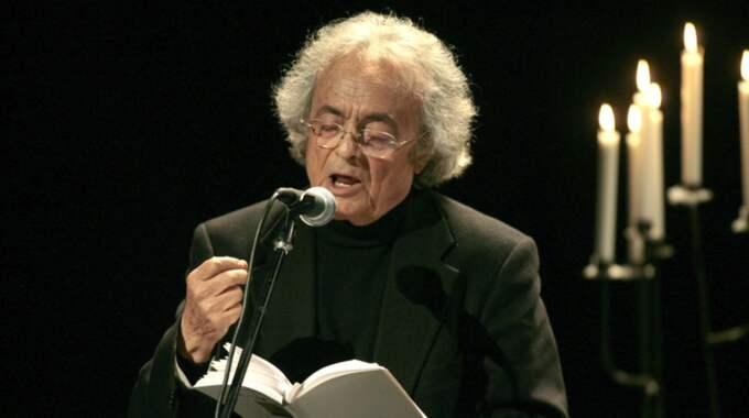 NOBELPRISKANDIDAT. Den syriska poeten och essäisten Adonis har i många år tippats som en trolig vinnare av Nobelpriset i litteratur. Foto: Ronny Johannesson