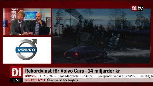 Volvo Cars lämnar stark rapport