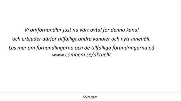 Igår försvann TV4 från en tredjedel av alla svenska hushåll när Com hem och Boxer drog ut sladden