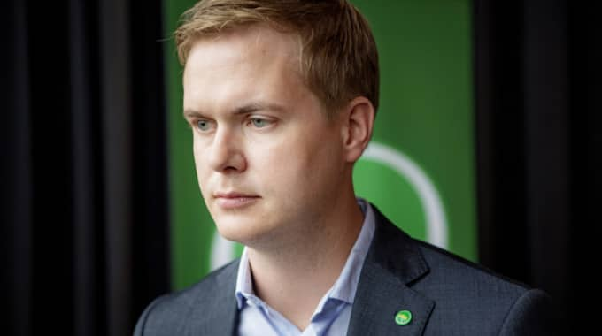 Gustav Fridolin. Foto: Alex Ljungdahl