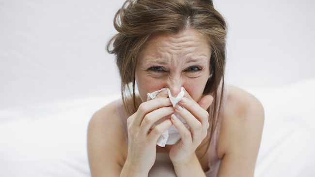 smittotid vid förkylning