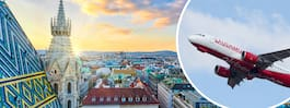 Ny direktlinje till Wien från Stockholm och Göteborg