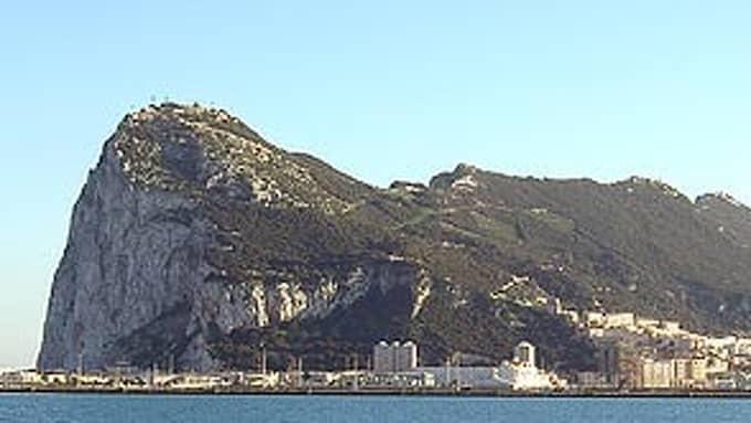 Asteroiden är stor som Gibraltarklippan. Foto: WIKIMEDIA
