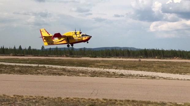 Notan för skogsbränderna närmar sig 2014