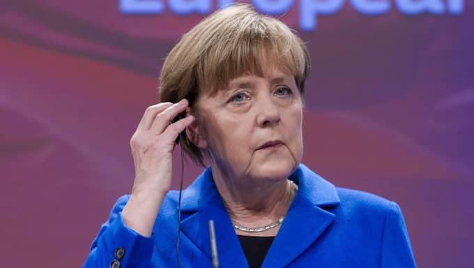 Hon ser Tysklands förbundskansler Angela Merkel som en inspirationskälla. Foto: Thierry Monasse