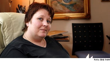 Undersköterskan Jeanette Björn lider av en kronisk njursjukdom: Jag blir trött och jag måste gå till läkare ofta. Men jag försöker ändå arbeta och leva så normalt jag kan.