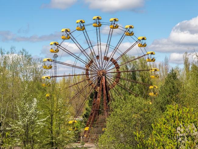 Turistmålet nummer ett i Tjenobyl är det övergivna pariserhjulet.