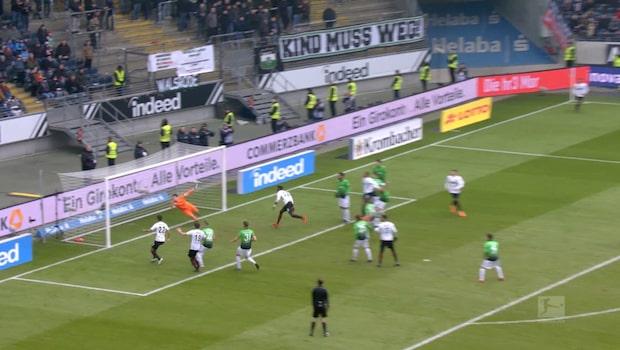 Highlights: Frankfurt-Hannover 1-0