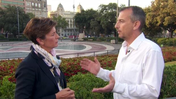 Jim Kent blev vittne till terrorn i Barcelona