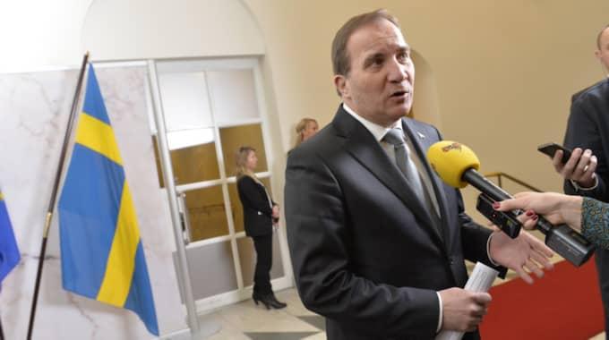 Statsminister Stefan Löfven. Foto: Jonas Ekströmer/TT