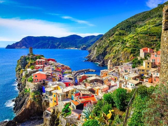 <span>Cinque Terre begränsar antalet turister som tillåts på ett år.</span>
