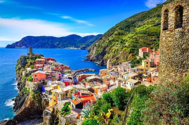 <span>Cinque Terre är ett av Italiens populäraste resmål.</span>